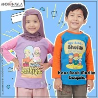 Kaos Anak Muslim ANDIENAYLA / Kaos raglan anak / Ukuran M