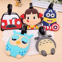 Jual Tag koper dan tas ukuran mini motif lucu Luggage bag tag - KHM087 Murah