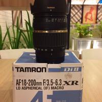 lensa tamron 18-200mm for sony DSLR