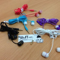 Earphone Headset Genius HS-M210 With Microphone For iPhone,Smartphone