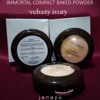 Compact Baked Powder Velvety Ivory untuk rias wajah cantik alami