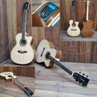 Gitar lakewood natural maple double side sunghua jung LC4 di kudus