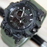 Jual Jam Tangan G-Shock GWG1000 Green Army Black Murah