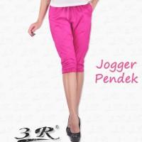 Joger Pendek - Celana Sporty Jogger Pants - S - M - L - XL