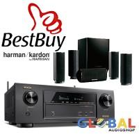 Jual Paket Home Theater Denon AVR-X1300W dan Harman Kardon HKTS 16BQ Murah