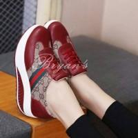 harga Sepatu Wedges Guci Tali Merah Tokopedia.com
