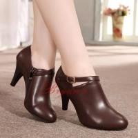 harga Sepatu Wanita High Heels Fs62 Coklat Tokopedia.com