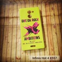 INFINIX HOT 4 X557 CASE CUSTOM HP