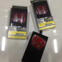 Emblem stir Civic turbo/ CRV turbo steer Red Honda Black Honda JDM