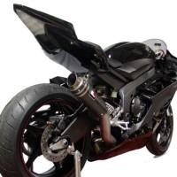 Knalpot Yamaha R6 Racefit Slipon Growler Carbon Titanium