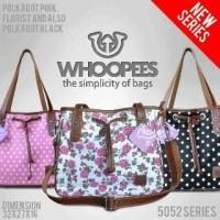 Jual Tas Wanita Tote Selempang Sling Bag Whoopees Branded Cantik Lucu Murah Murah