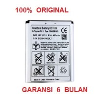 100% ORIGINAL Sony Ericsson Battery BST-33 / K800i, W550i, k530i, K550