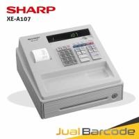 CASH REGISTER SHARP XE-A107 - MESIN KASIR MURAH SHARP 107 PUTIH