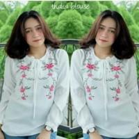 THALIA BLOUSE - baju kerja wanita - blouse muslim - tunik modis - hotd
