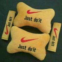 Bantal Sandar Mobil Nike Just Do It