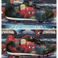 Jual sepatu anak spiderman (size 26-35) Murah
