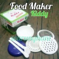 Jual KIDDY FEEDING SET AND MULTIFUNCTIONAL FOOD MAKER/ TEMPAT MAKAN BAYI Murah