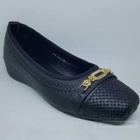 Sepatu Wedges Cewek KYNZARA SK-153 BLACK bukan Gucci Pedro Everbest