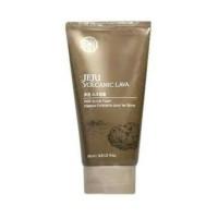 The Face Shop Jeju Volcanic Lava Scrub Foam Original 100% Guarantee