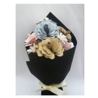 Jual bucket bunga/hand bouquet/buket bunga wisuda/buket bunga malang Murah