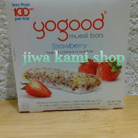 YOGOOD STRAWBERRY MUESLI BAR