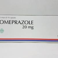 Omeprazole 20 mg capsul isi 30's