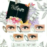 Softlens ice silver / softlens ice gold / icy grey ash grey