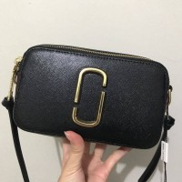 Marc Jacobs Snapshot Black Choco Bag