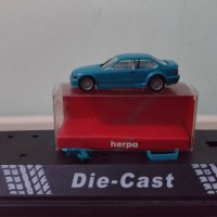 Herpa BMW E36 M3 GTR 1/87 (blue)