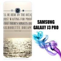Mayday Parade Quotes X0107 Samsung Galaxy J3 Pro Full Print 3D Case