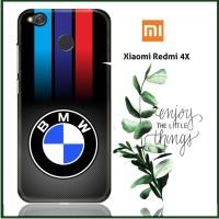 Carbon Fiber Bmw Logo X3210 Xiaomi Redmi 4X Full Print 3D Case