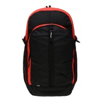 Laris Puma Apex Backpack - Puma Black-Red Blast