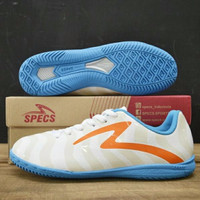 PREMIUM Sepatu Futsal Super Champion Specs Torpedo  White Spirit Orang