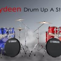 Yamaha Drum Set Akustik RYDEEN include hardware dan drum stool