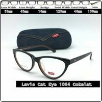 Hd Frame Kacamata frame minus kacamata Levis 1094 Cat Eye Cokelat Id