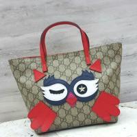 Gucci Children Owl Tote Waterproof / Hand Bag / Tas Lucu / Tas Kecil
