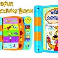 901901 Winfun Talking Activity Book MAinan Anak