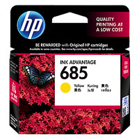 harga Hp 685 Yellow Original Ink Advantage Cartridge (cz124aa) Tokopedia.com