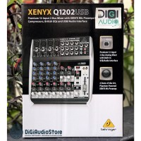 Mixer Behringer Q1202USB ( Q 1202 USB ) with Soundcard for Recording