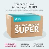 Tambahan Biaya Untuk Extra Perlindungan SUPER Kemasan