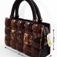 Harga tas kerajinan tangan batok kelapa etnik | Pembandingharga.com