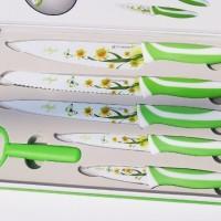 Kitchen Knife Set 6 PCS : Pisau Mawar Set 6 In 1 : Pisau Dapur Keramik