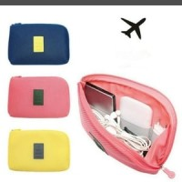 Charger & Cable pouch / Dompet Gadget HP Powerbank / Travel Organizer