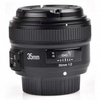 YONGNUO 35mm F/2 Lens Wide Angle AF MF Black