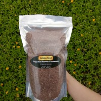 Organic Brown Flaxseeds 1 Kg - Flax Seeds Flaxseed Flax seed Biji Rami