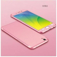 Casing cover HP OPPO F1 PLUS/R9 full cover 360 baby skin hardcase pink