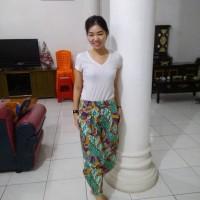 Celana Panjang Gaul Batik Modern Kulot Keren Murah Hijaber Hijab Modis