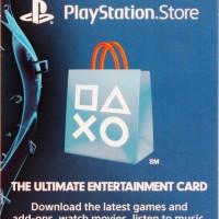 PSN / Playstation Network Giftcard Prepaid $25
