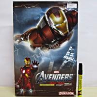 Iron Man Mark Vll combat version model kit Dragon 38321