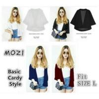 Jual Mozi basic Cardy | Kimono haruka - Bahan Twiscon soft Fit L Murah